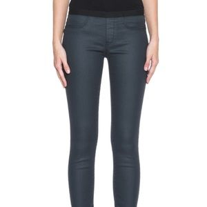 HELMUT Waxy Black/Grey Wash Coated Jean Legging